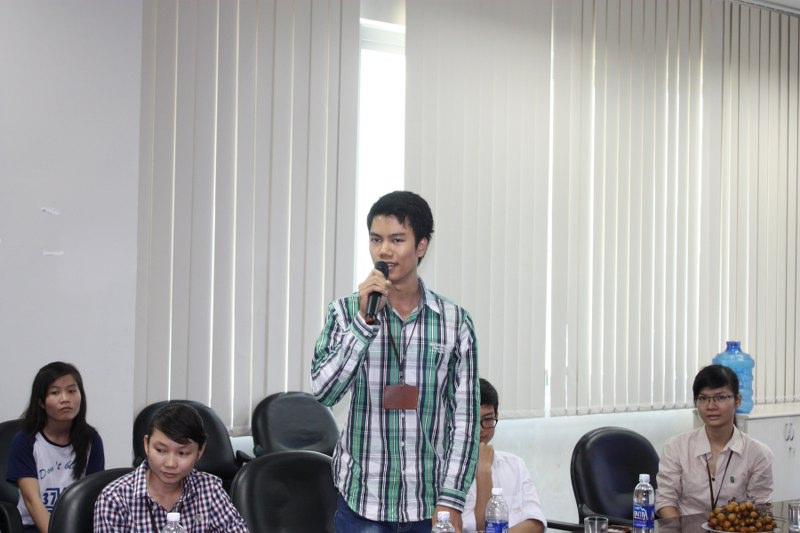 Gặp mặt sinh viên tại Đà Nẵng