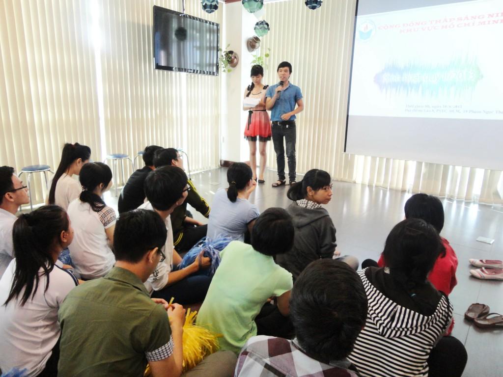 Chương trình sinh hoạt - giao lưu của cộng đồng HCM