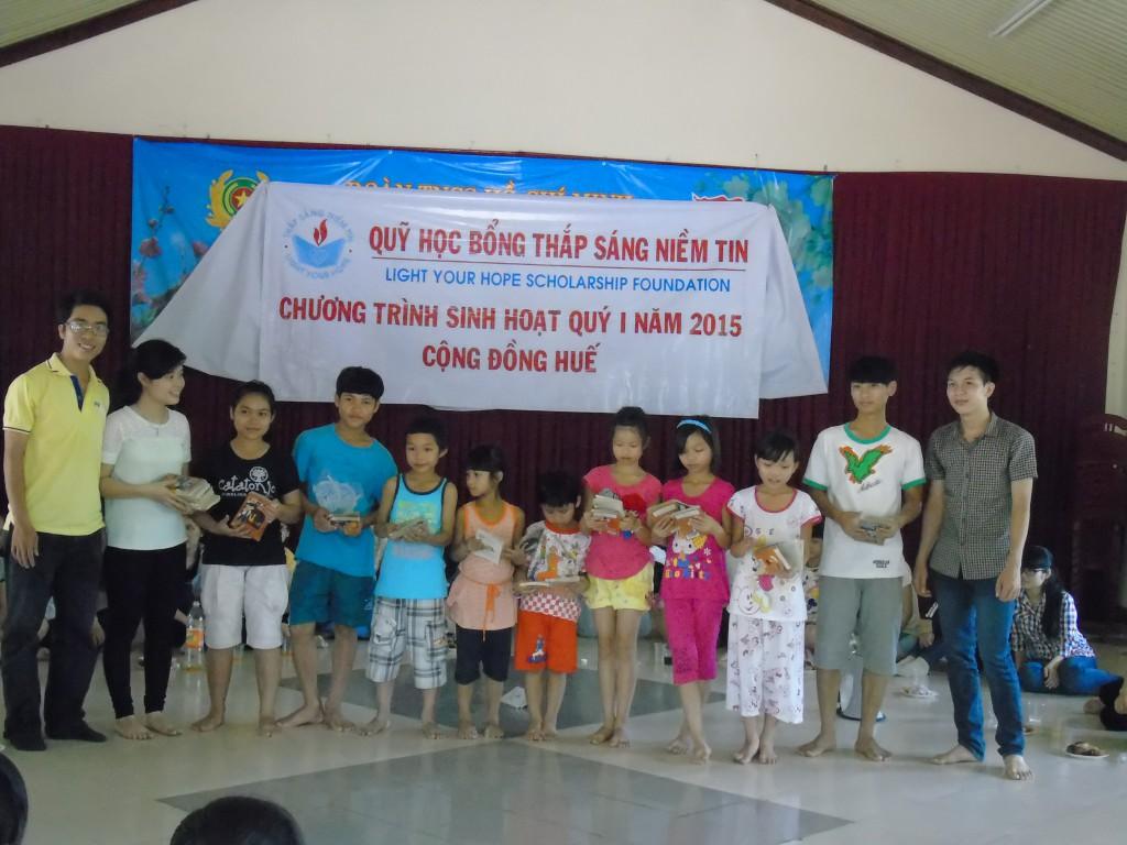 Chương trình sinh hoạt - giao lưu của cộng đồng Huế