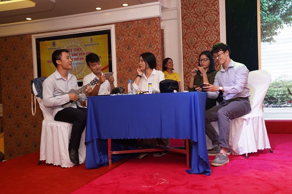 Thành viên Quỹ đã tập luyện tích cực cho Hội thi